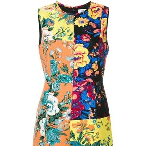 DVF Floral Shift Dress 14